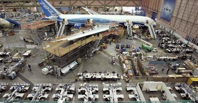 Boeing raises dividend 5 percent, to 42 cents