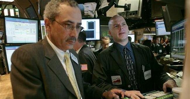 Tipsy on Wall Street