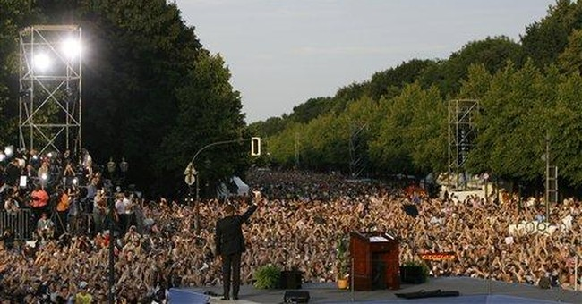 Distractions for Obama in Berlin