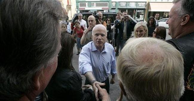 Fear Factor: McCain's Best Bet