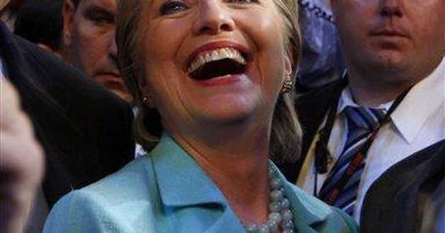 Hillary Clinton's Act of Grace