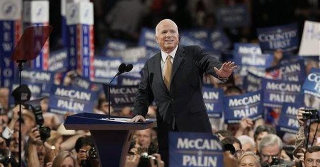 Why I'm Voting for John McCain