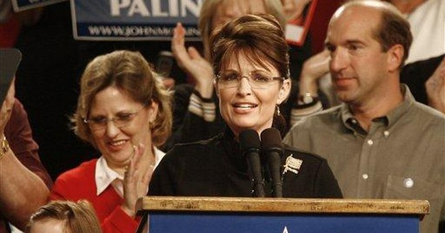 Feminist Army Aims Its Cannons at Palin