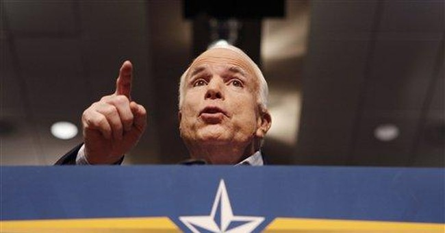 McCain Must Talk Growth and Recovery