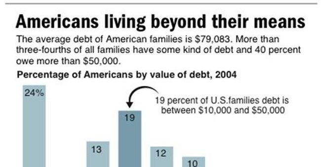 It's the Debt, Stupid
