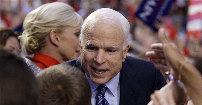 John McCain, Reveling in Anger