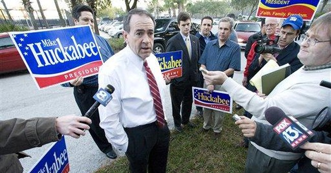 Huckabee Plays For Kingmaker and VP