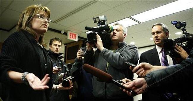 Palin Smears Hurt McCain
