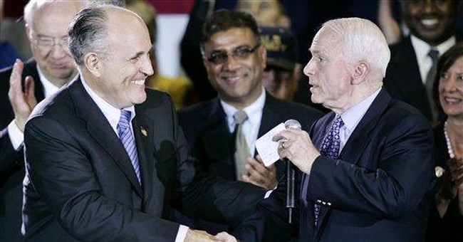 Giuliani Slams Obama Over Terror
