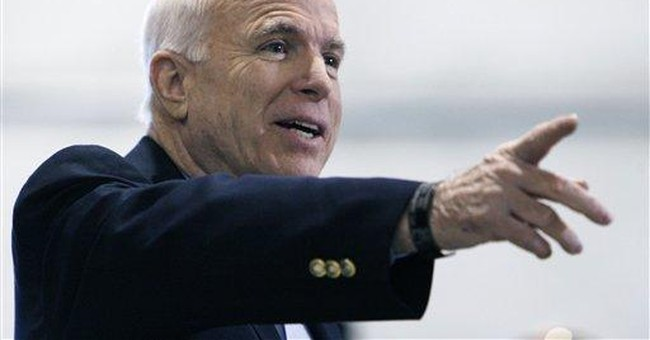 There's Nothing Conservative Or Principled About Helping A Democrat Beat John McCain In November