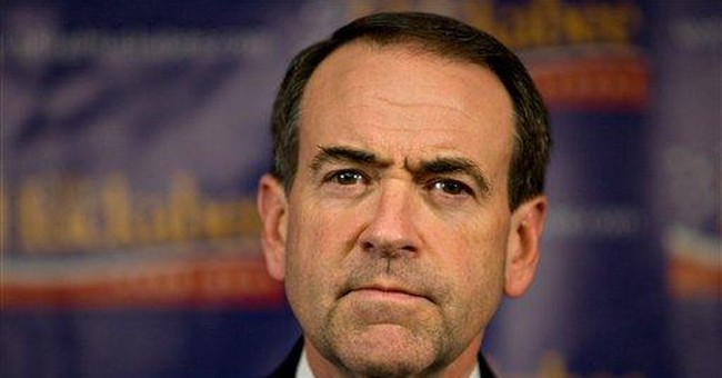 Huckabee: Placing Power Above Principle or Party