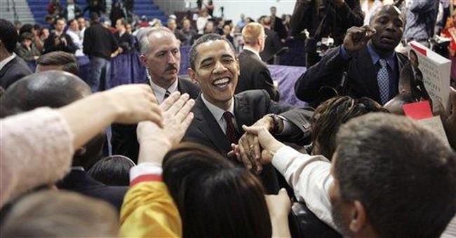 Obama's Rhetoric, American Realities