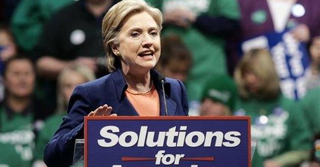 Desperate Times for Clinton Campaign