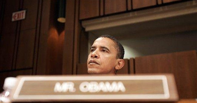 Obama Runs from Liberal Record in Debate