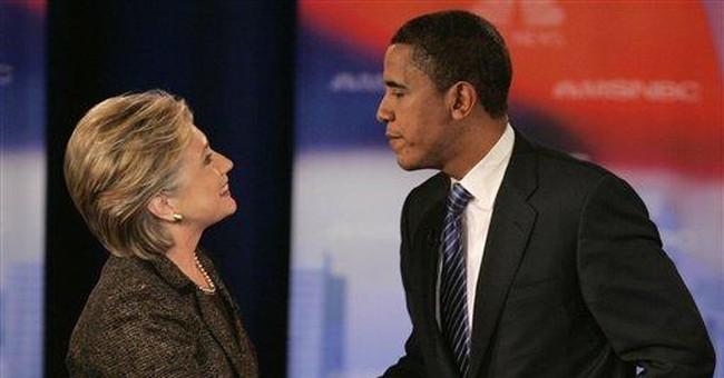 Hillary's Go-Round With Obama