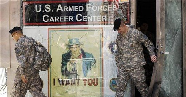 The Left's Escalating War on Military Recruiters