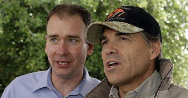 Was Rick Perry Just Kidding?