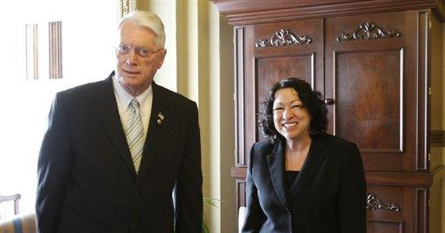 Sotomayor and Quotas