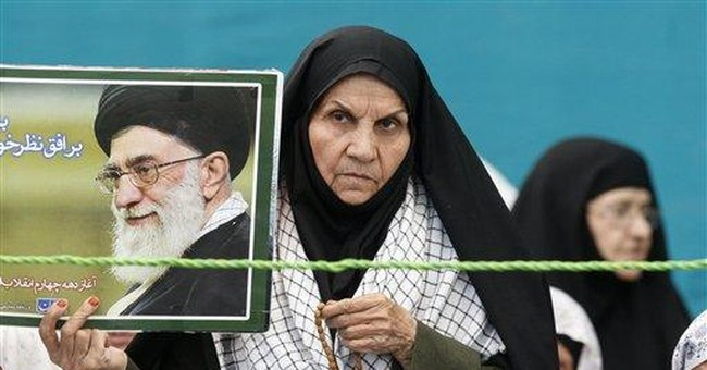 Meanwhile, in Iran...