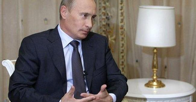Putin: Muscle Man