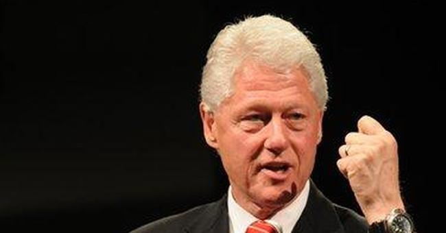 Being Bill Clinton