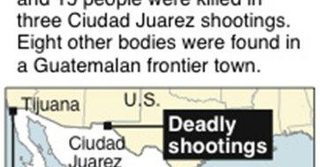 Fight in Matamoros prison leaves 20 inmates dead
