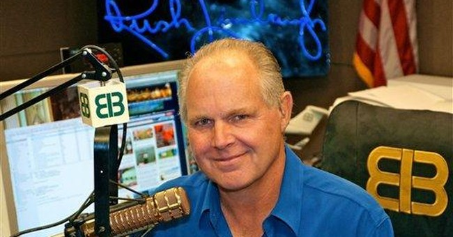 Limbaugh And the, Um, Lady