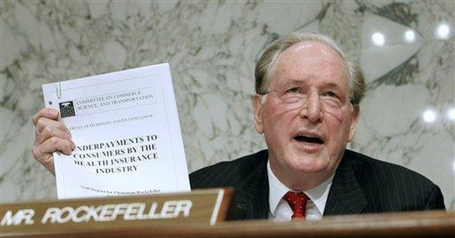 Jay Rockefeller Stands in the Way of Obama's Environmental End-Around