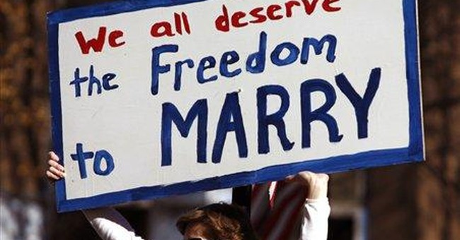 Gay Marriage Lost, But It's Not Losing