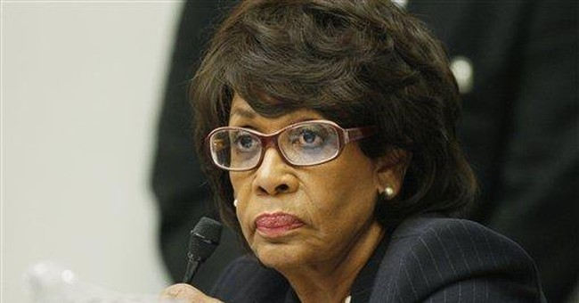 Mad Maxine's Minority Fat-Cat Bankers