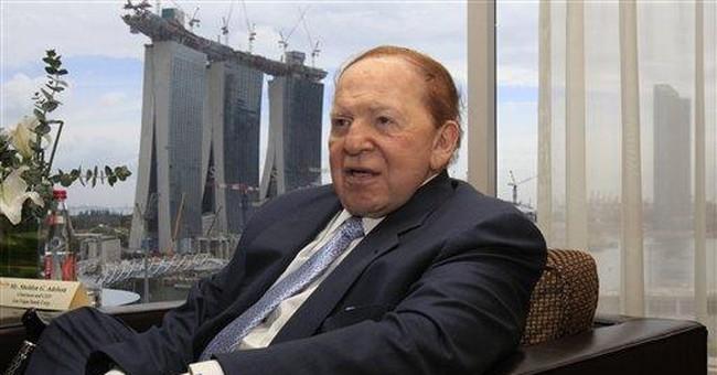 New York Times v. Adelson