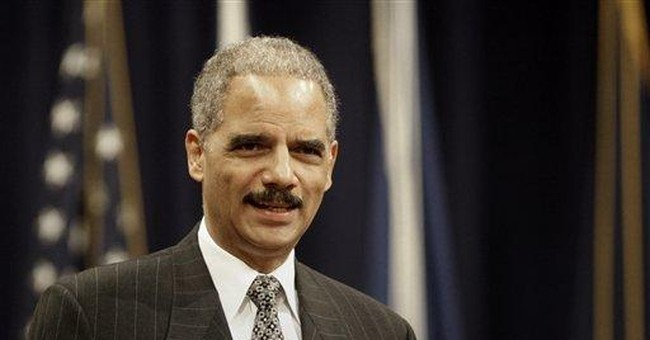 Courage, Mr. Holder