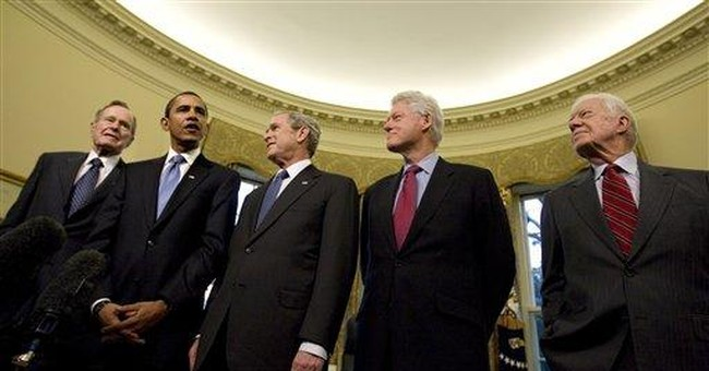 Of Mice, Pumpkins, and Former Presidents