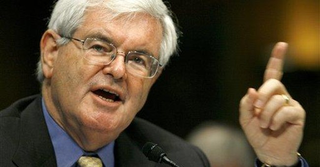 Newt Gingrich, Thought Provocateur in Chief