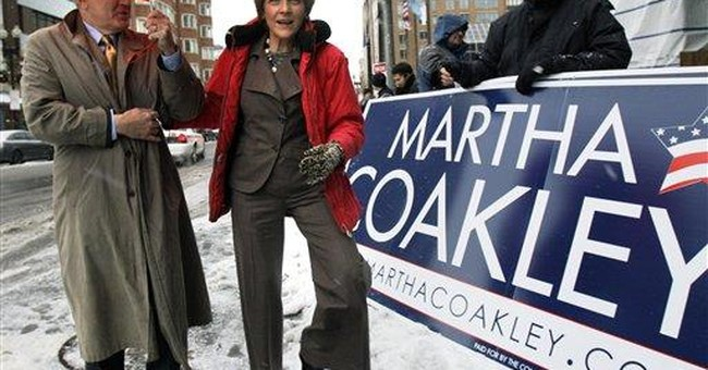 Coakley Would Be Quayled -- If She Were a Republican