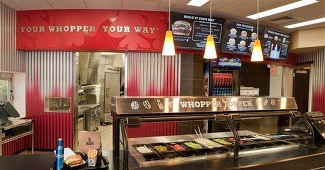 Burger King cashier calls cops on 'herb' smoker