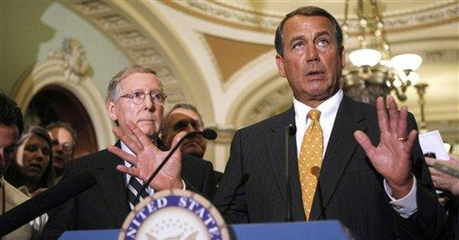 GOP leader hopes to work with Obama on some issues