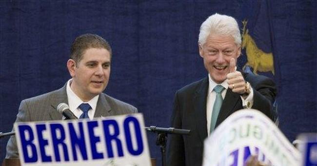 Bill Clinton stumps in US's priciest House race