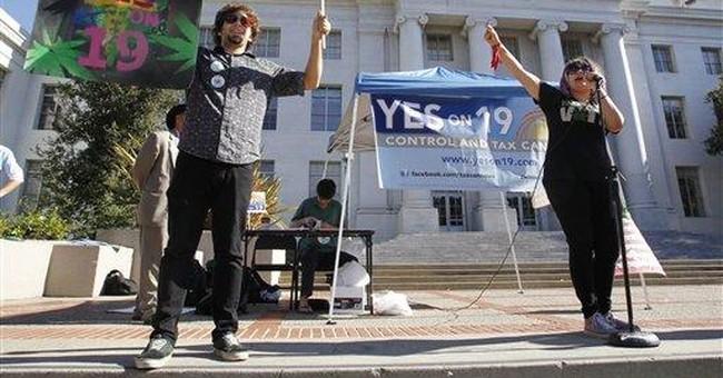 Marijuana legalization measure loses in California