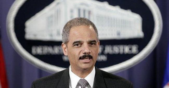 Security Risk: Eric Holder's Latest Folly