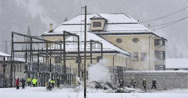 2 die as private jet crashes near Swiss ski resort