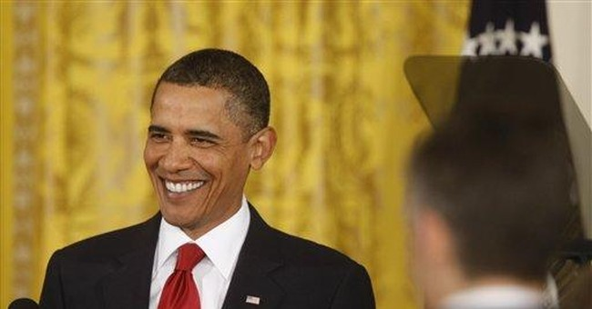 Can Cocksure Obama Change Course -- and Keep His Nerve?