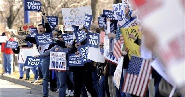 Democrats Change Up Obamacare Message