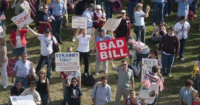 Tea Party Maligned