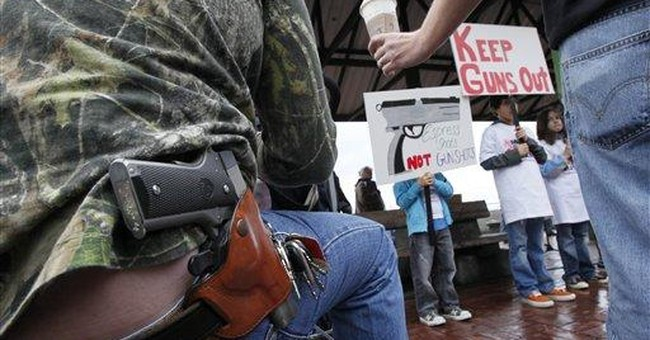 Where Open Carry Is Legal And Illegal