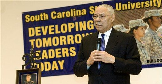 Colin Powell: Obama blew away the birthers