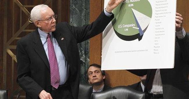 Props aplenty in Senate show on big oil tax breaks