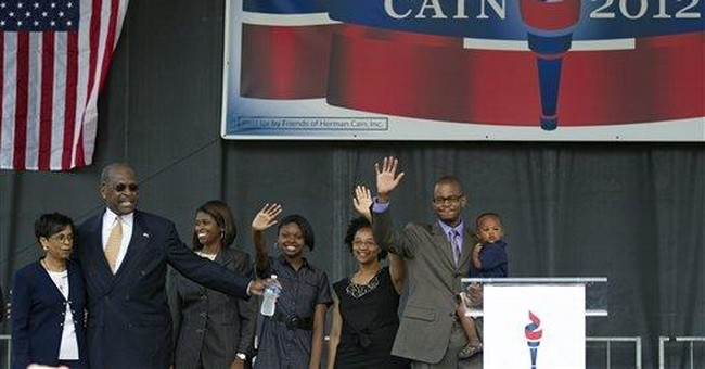 Businessman Cain enters 2012 GOP presidential race