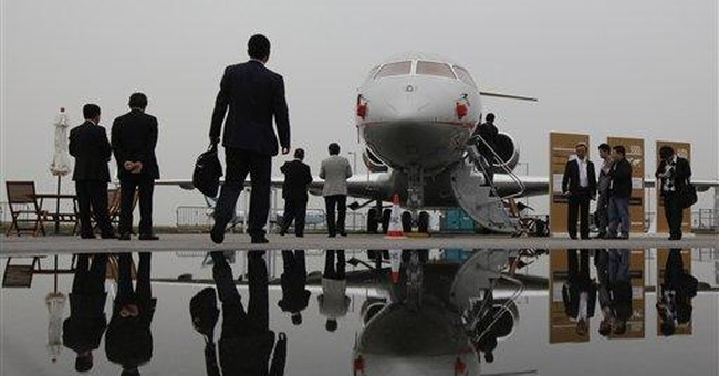 China's rich help private jet market take flight