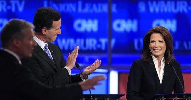 Bachmann brings flair, tea party clout to GOP race